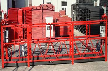 50/60 hz drie / enkelfase tou opgeskort platform lengte 7,5 meter