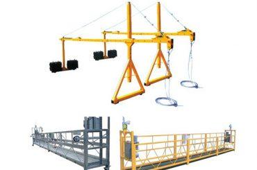 2 * 2.5m aluminium elektriese tou opgeskort platform met motorkrag 1.5kw