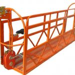 1000 kg 7,5 mx 3 afdelings aluminium legering opgeskort werkplatform zlp1000
