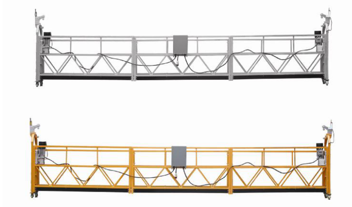 208 V / 60HZ Drie Fase 100m, 150m, 200m, ens Aluminiumlegering ZLP630 Ophangende Wieg