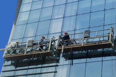 2 persoon tou opgeskort platform zlp630 met gietyster teen gewig