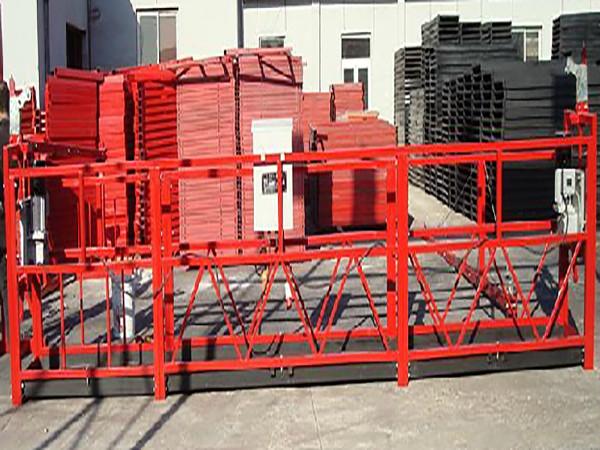 Gebou Skoonmaakwerk Werkplatform Zlp800 Met 800kg Rated Load