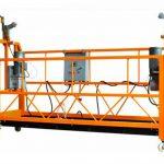 ce gesertifiseerde aluminium opgeskort werkplatform zlp1000 motor krag 2.2kw