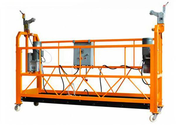 CE-gesertifiseerde aluminium-opskort werkplatform ZLP1000 Motorkrag 2.2kw