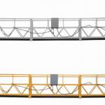 3-fase tou opgeskort platform warm gegalvaniseerde 7,5m zlp800a vir muurskildering