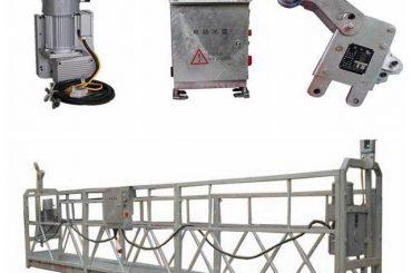 persoonlike roerende veiligheid venster skoonmaak platform, zlp500 1.5kw 6.3kn swing stadium