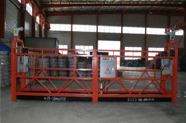 zlp1000 8 - 10 m / min veilige opgeskort woking platform vir boukonstruksie en instandhouding