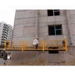 7,5m aangepas 800 kg opgeskorte platforms vir die bou van skoonmaak, pen tipe