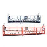 10m staal / aluminium opgeskort toegang toerusting zlp1000 vir 3 persone werk
