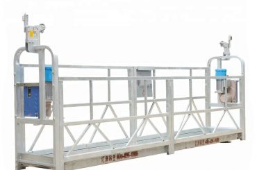 hoë gebou opgeskort platform, konstruksie wieg, gondel lift