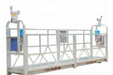 10m 800kg opgeskorte steierwerkstelsels aluminiumlegering met hefhoogte 300m