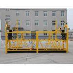 hoë kwaliteit en warm zlp630 zlp800 krag werk platform zlp 630 opgeskort platform