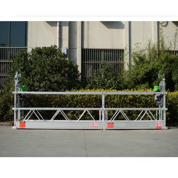 Mast Climbing Suspended Work Platform / mobiele verhewe werk platform
