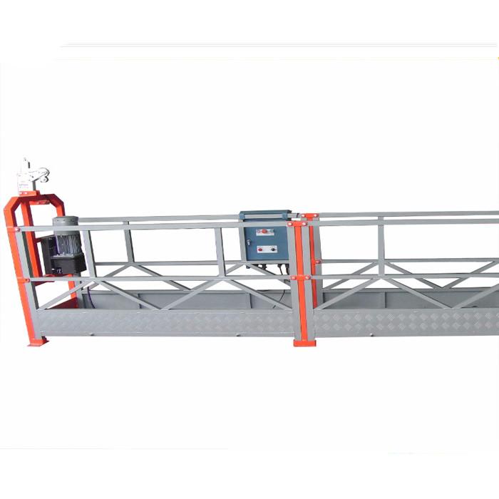 Pin - Type 800kg Opgeskort Werk Platform Met 1.8kw Motor Power