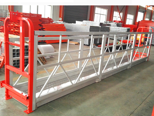 2 afdelings 500kg opgeskort werkplatform met 3 tipes gewig