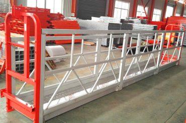 aluminiumlegering steiger stelsels 1000 kg 2.2 kw vir venster skoonmaak