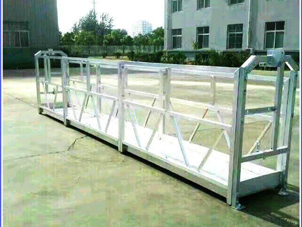 Staal / Aluminium Suspended Work Platforms Met SAL-reeks Veiligheidslot