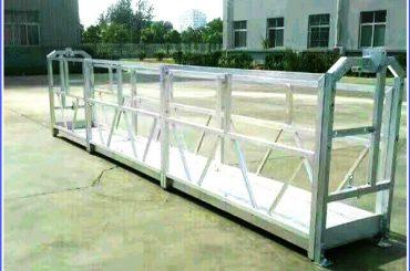 warm gegalvaniseerde tou opgeskort platform, hoë opkoms gebou opgeskort gondel