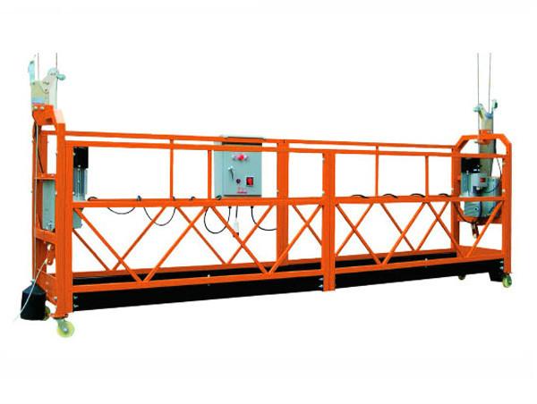 2.5M x 3 Afdelings 1000kg Opgeskort Toegangsplatform Ophefsnelheid 8-10 m / min