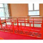 staal geskors toegang platforms 7.5m 1.8kw 800kg gebou onderhoud