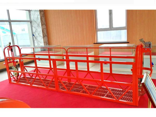 Staal Opskort Toegangsplatforms 7.5m 1.8kw 800kg Bou Onderhoud
