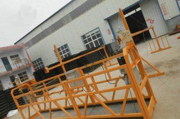 Betroubare ZLP630 Skilderwerk Staal Opgeskort Werkplatform Vir Konstruksie Konstruksie (2)
