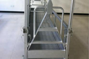 opgeskort staal werk platform / opgeskort staal platform