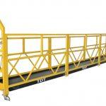 aangepas zlp1000 geskors toegang platforms onderhoud wieg met staal tou 8.6mm