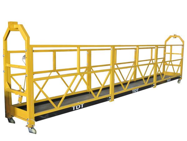 Staal / Warm gegalvaniseerde / Aluminium Alloy Toue Opgeskort Platform 1.5KW 380V 50HZ