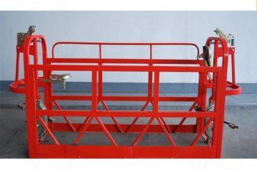 800kg geverfde / aluminium opgeskorte toegang platforms motor krag 1.8kw steierplatform