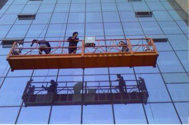 sterk konstruksie tou geskors platform met 30kn veiligheidslot zlp1000 2.2kw 2.5m * 3