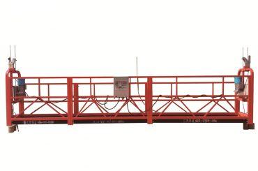 staal / warm gegalvaniseerde tydelike opgeskort platform, zlp500 instandhouer