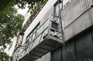 zlp1000 2.5m * 3 2.2kw 8kn opgeskort toegang wieg met elektriese beheer stelsel