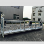 verstelbare aluminiumlegering tou opgeskort platform zlp 800 vir die opknapping / verf
