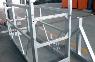 hoë veiligheid tou opgeskort platform hysbakke installasie platform zlp630 zlp800 zlp1000