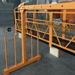 enkelfase-ophangdraadplatform 800 kg 1.8 kw, hefsnelheid 8 -10 m / min
