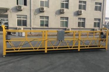 ce gesertifiseerde zlp630 aluminium elektriese hang gondel vir konstruksie