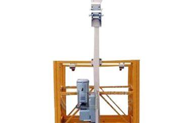 250kg enkelman geskors werkplatform l strop met ltd6.3 takel