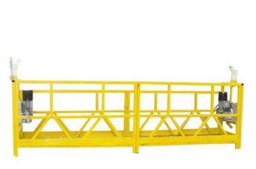 zlp 630 tydelik geïnstalleerde opgeskorte werkplatform met geskatte kapasiteit 630kg