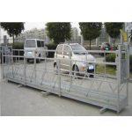 2.5mx 3 afdelings steierwerkplatforms 800kg aluminium met veiligheidslot 30kn