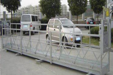 zlp630 tou opgeskort platform / elektriese swaai stadium / steierwerk vir die venster skoonmaak masjien