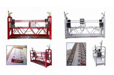 tou ophangende toegang platform, zlp630 konstruksie lift gondel masjien