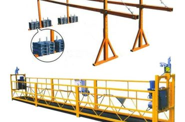 elektriese hysbak vir opgeskort platform en elektriese hysbak CD1 tipe