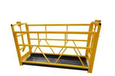 aluminium opgeskorte toegang platforms onderhoud wieg zlp800 7,5m 800kg 1.8kw