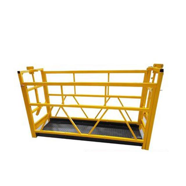 -Venster-skoonmaak geskors-platform-vir-gebou-skoonmaak