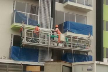 konstruksie onderhoud tou hang platform met hysbak ltd8.0 zlp800